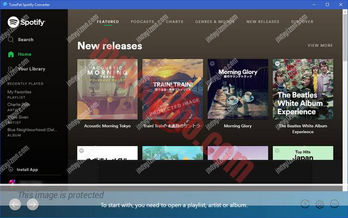 Free Download TunePat Spotify Music Converter for Windows/Mac