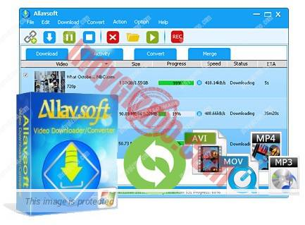 Allavsoft for Windows