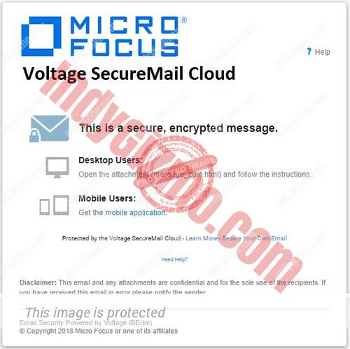 Voltage SecureMail Cloud coupon