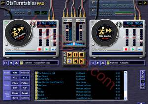 OtsTurntables MP3 mixing software