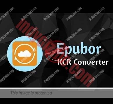 Epubor KCR Converter